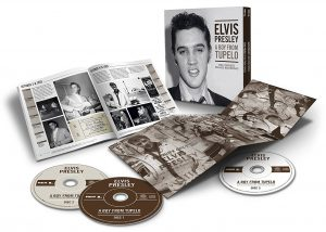 Elvis Presley 3CD Box Set A Boy From Tupelo