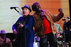 Paul Simon und Jimmy Cliff Hard Rock Calling 2012