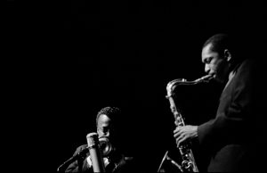 Miles Davis und John Coltrane