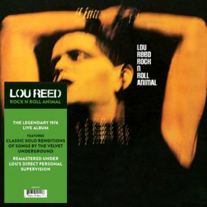 Lou Reed Rock'n'Roll Animal LP