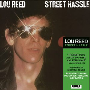 Lou Reed Street Hassle LP