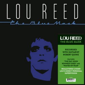 Lou Reed The Blue Mask LP