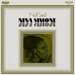 Nina Simone Nuff Said Album