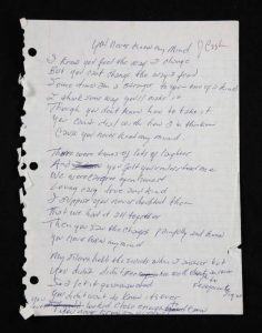 Johnny Cash You Never Knew My Mind
