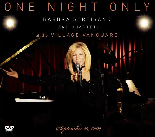 One Night Only – Barbra Streisand and Quartet at the Village Vanguard (DVD/ CD)