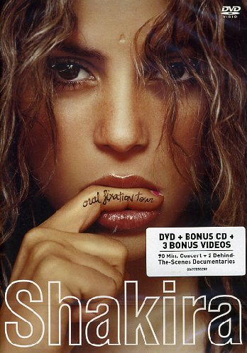 Shakira Oral Fixation Tour (DVD/ CD)