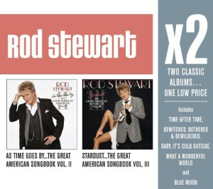 X2 (As Time Goes By…The Great American Songbook Vol. II / Stardust…The Great American Songbook Vol. III) (2 CD)