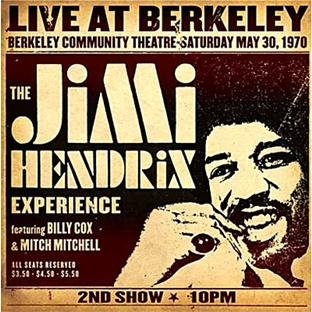 Jimi Hendrix Experience Live At Berkeley (2 CD)