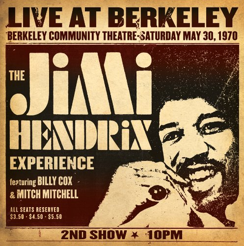 Jimi Hendrix Experience Live At Berkeley (2 LP)