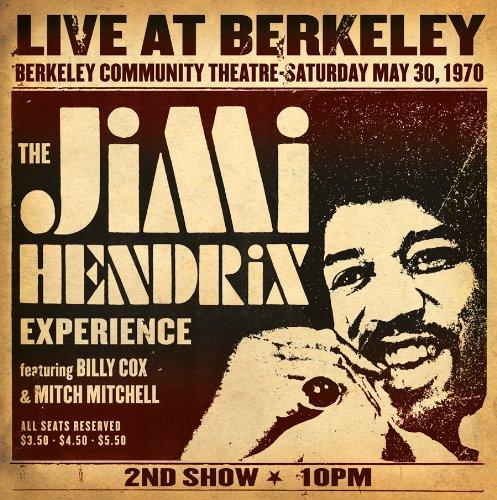 Jimi Hendrix Experience Live At Berkeley (2 LP)