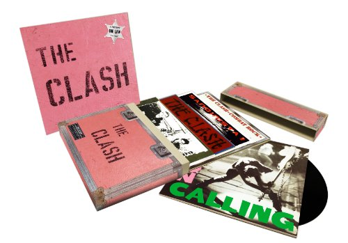 THE CLASH 5 STUDIO ALBUM CD SET