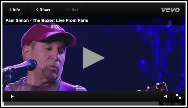 PAUL SIMON TAKES ON 'THE BOXER' LIVE – VIDEO PREMIERE AT ROLLING STONE