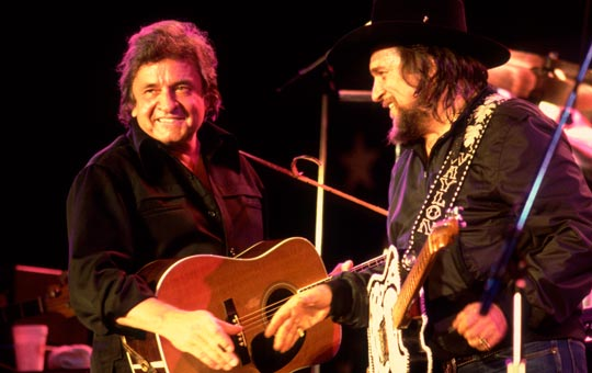 Hear Johnny Cash and Waylon Jennings 'I'm Movin' On' Exclusive Premiere At CMT.com