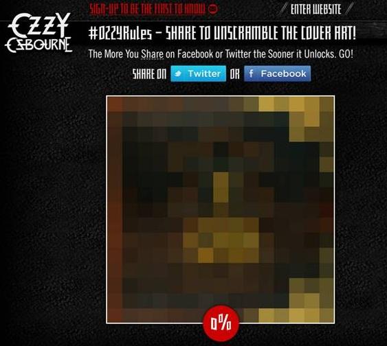 Help Unscramble Ozzy Osbourne's New Cover Art!