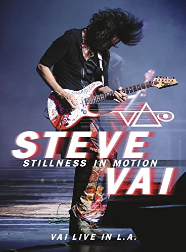 Steve Vai to release Stillness In Motion – Vai Live in L.A. Available in 2CD and 2DVD Configurations on April 7, 2015