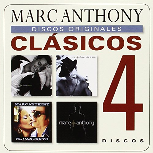 Clasicos (Libre/ Valio La Pena/ El Cantante (OST)/ Iconos) (4 CD)