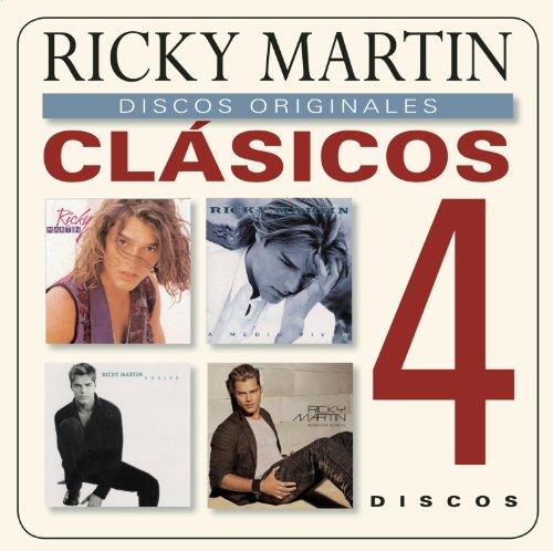 Clasicos (Ricky Martin/ A Medio Vivir/ Vuelve/ Almas del Silencio) (4 CD)