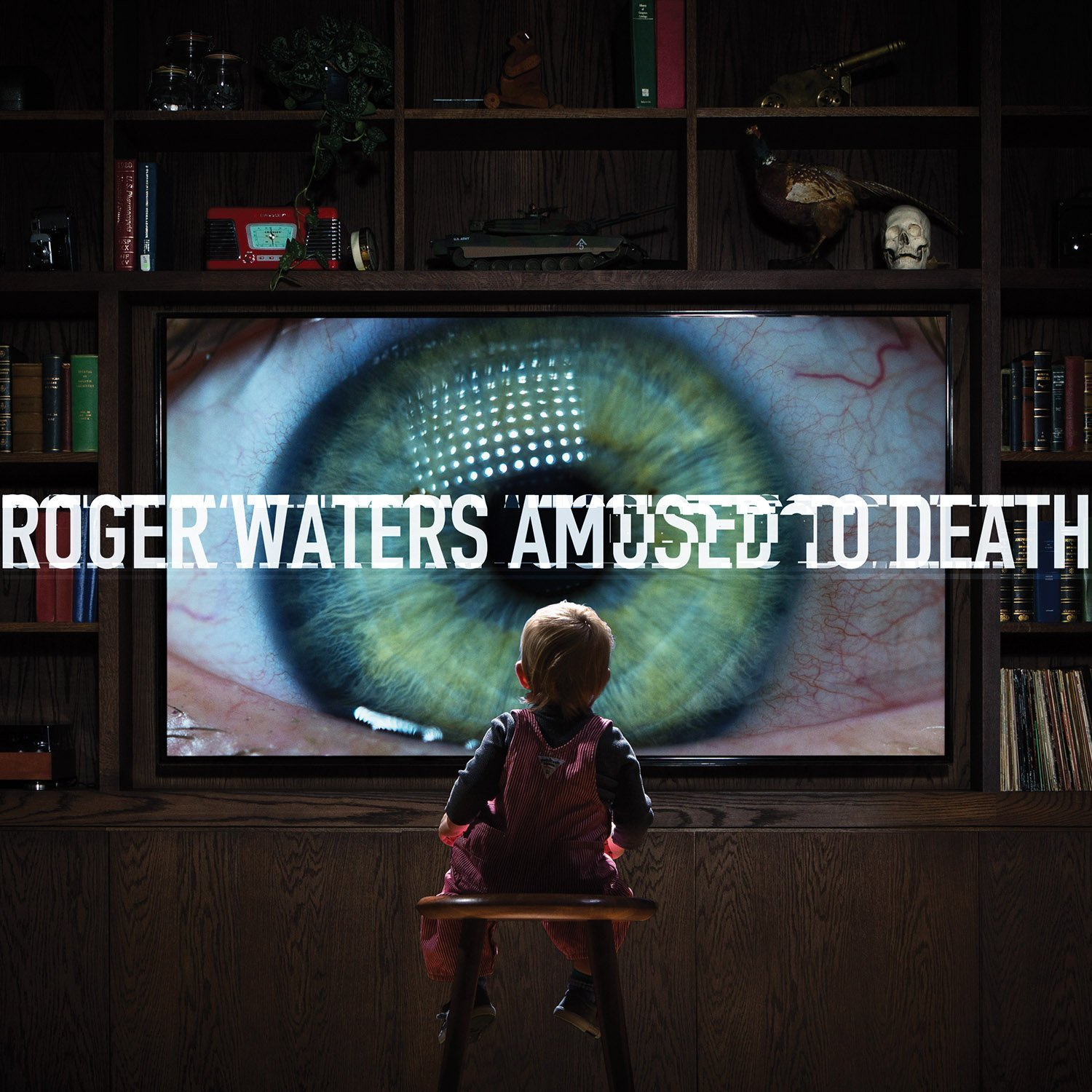ROGER WATERS' PORTRAIT OF A DISTRACTED SOCIETY, AMUSED TO DEATH, CELEBRATED WITH REMASTERED RELEASE