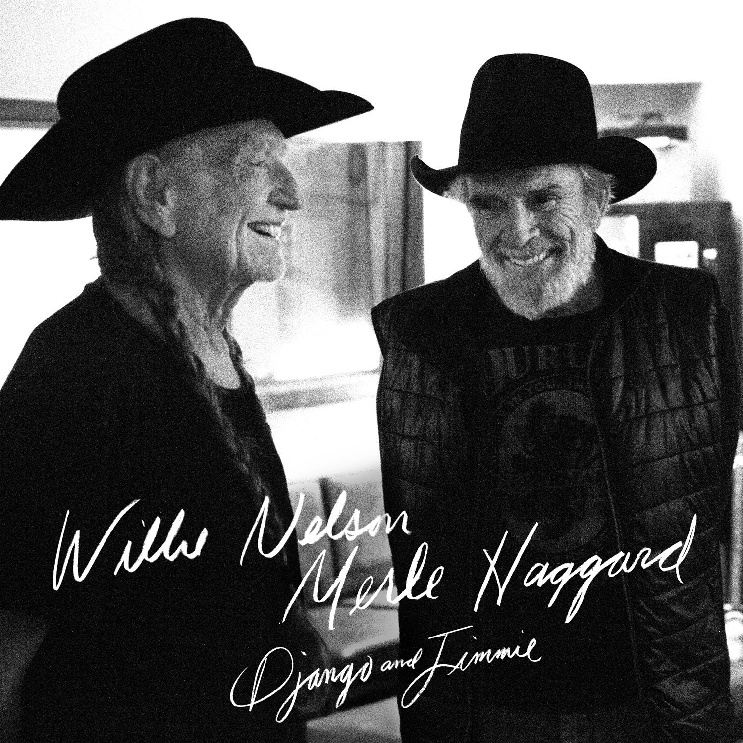 Outlaw Country Legends Willie Nelson & Merle Haggard Reunite for Django and Jimmie, A New Album Collaboration Premiering 14 Fresh Studio Tracks