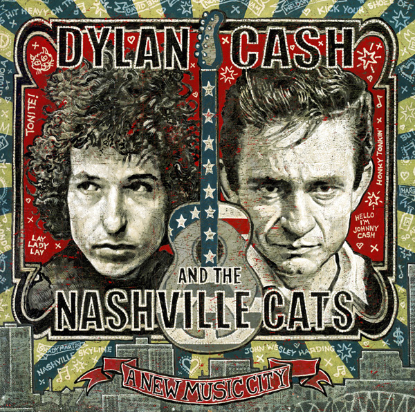 'Dylan, Cash, and the Nashville Cats: A New Music City' 2CD Set To Be Released June 16