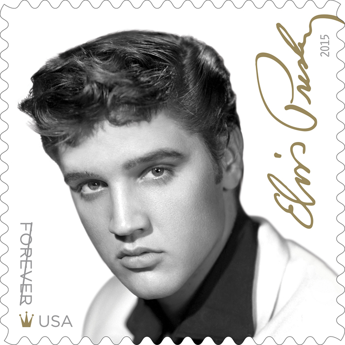 USPS Announces NEW Elvis Presley Forever Stamp + Exclusive CD