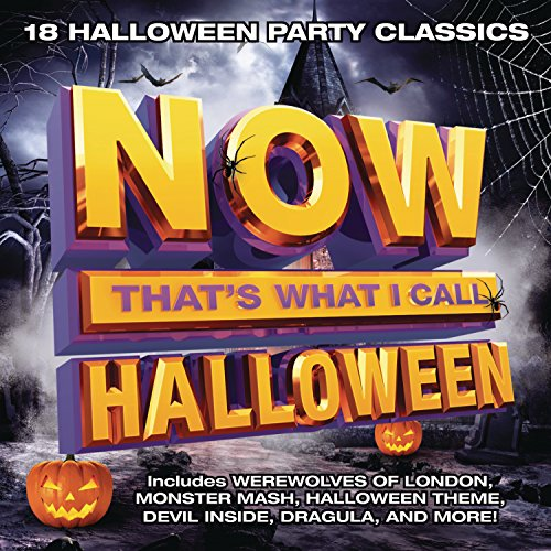 NOW That's What I Call Music! Presents NOW Halloween!, the Spooktacular First-Ever Halloween Entry in the World's Top-Selling Multi-Artist Album Series