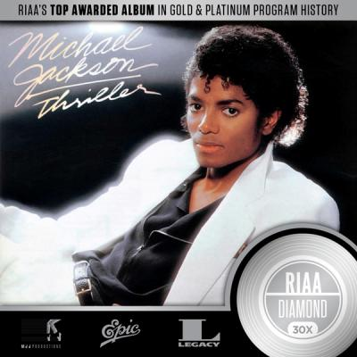 Michael Jackson's 'Thriller' Is The First Album Certified RIAA 30x Multi-Platinum