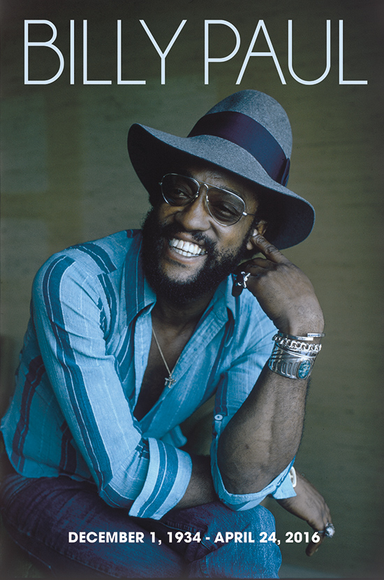 In Memory Of Billy Paul
