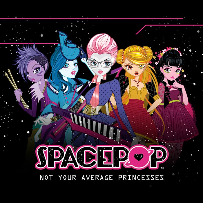 SpacePOP- Not Your Average Princesses