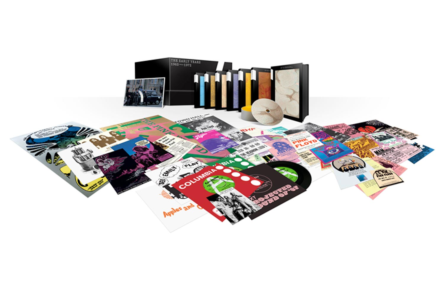Pink Floyd Will Release 'The Early Years 1965-1972' 27-Disc Box Set on November 11