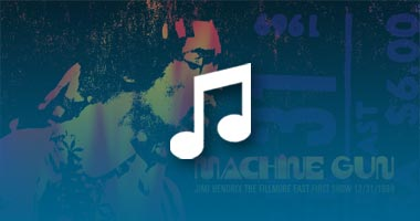 Listen to Songs from Jimi Hendrix and Band of Gypsys' Debut Concert Featured on 'Machine Gun' Release