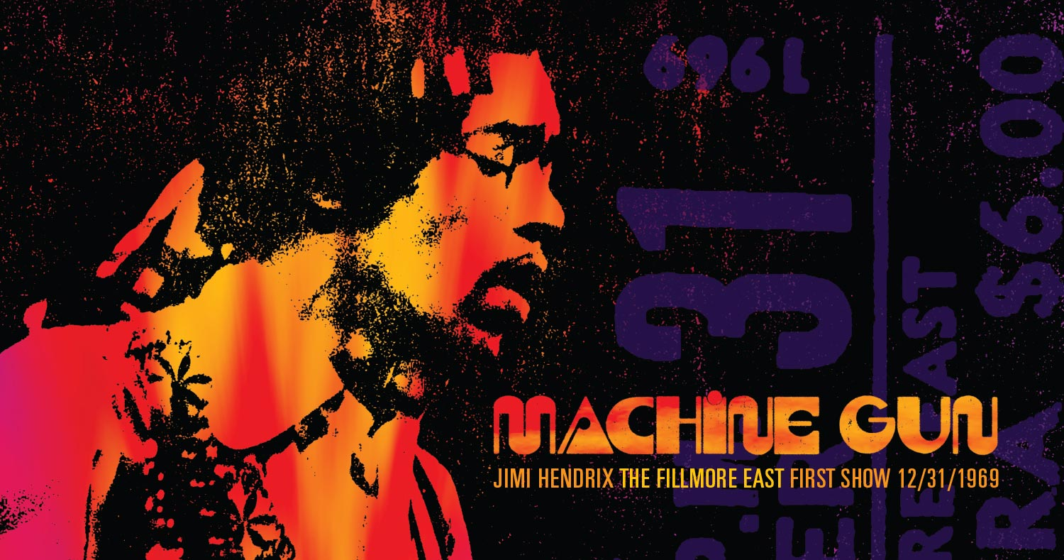 Historic Debut Concert of Band of Gypsys to Be Released In Its Entirety For First Time Ever