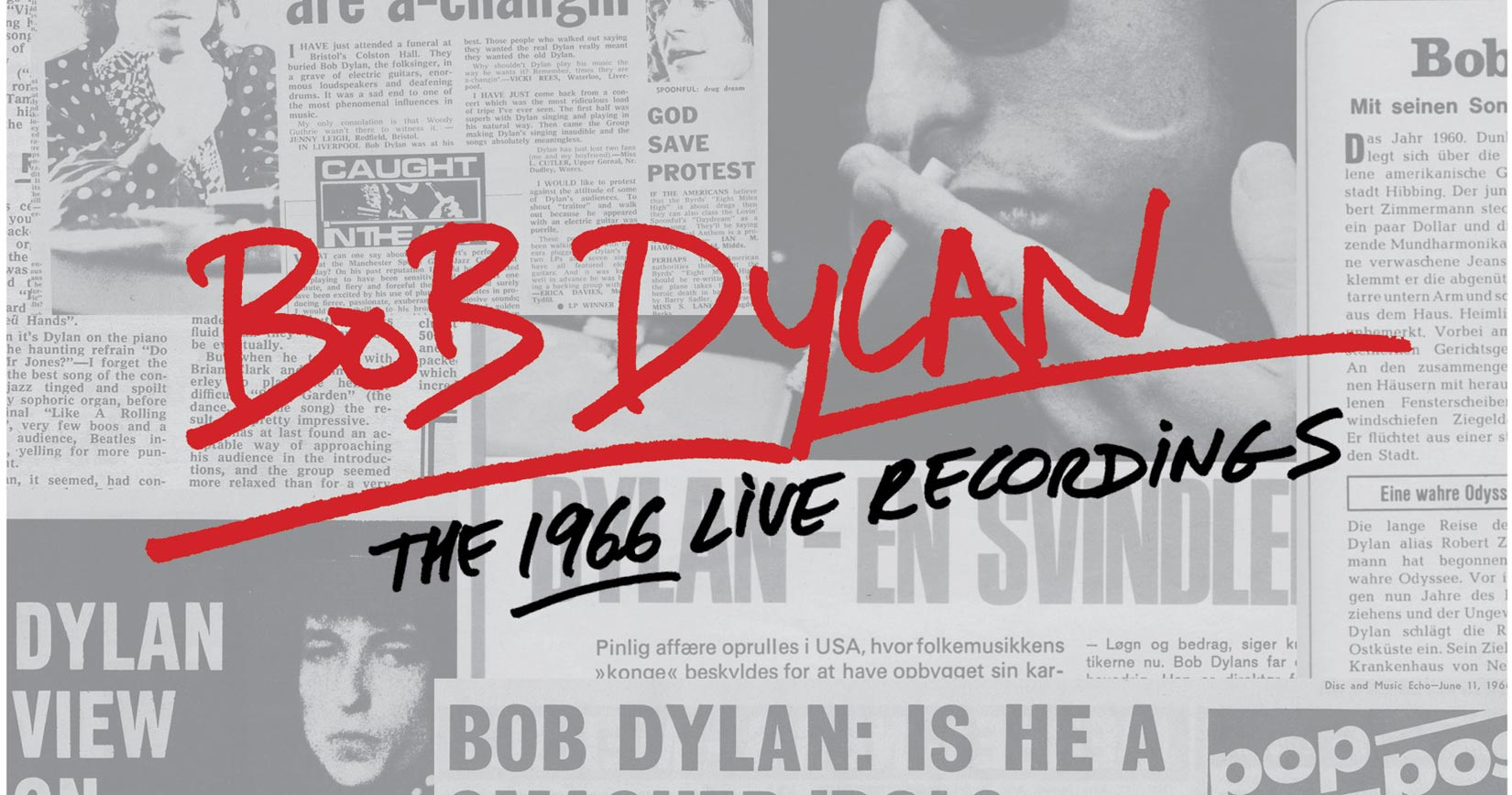A Monumental Box Set Featuring Every Known Recording from Dylan's 1966 Tour to Release on November 11