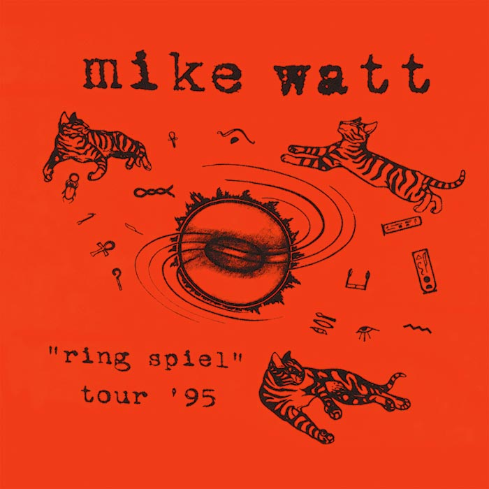 Listen to Live Recording 'The Red and the Black' from Mike Watt's 1995 Tour