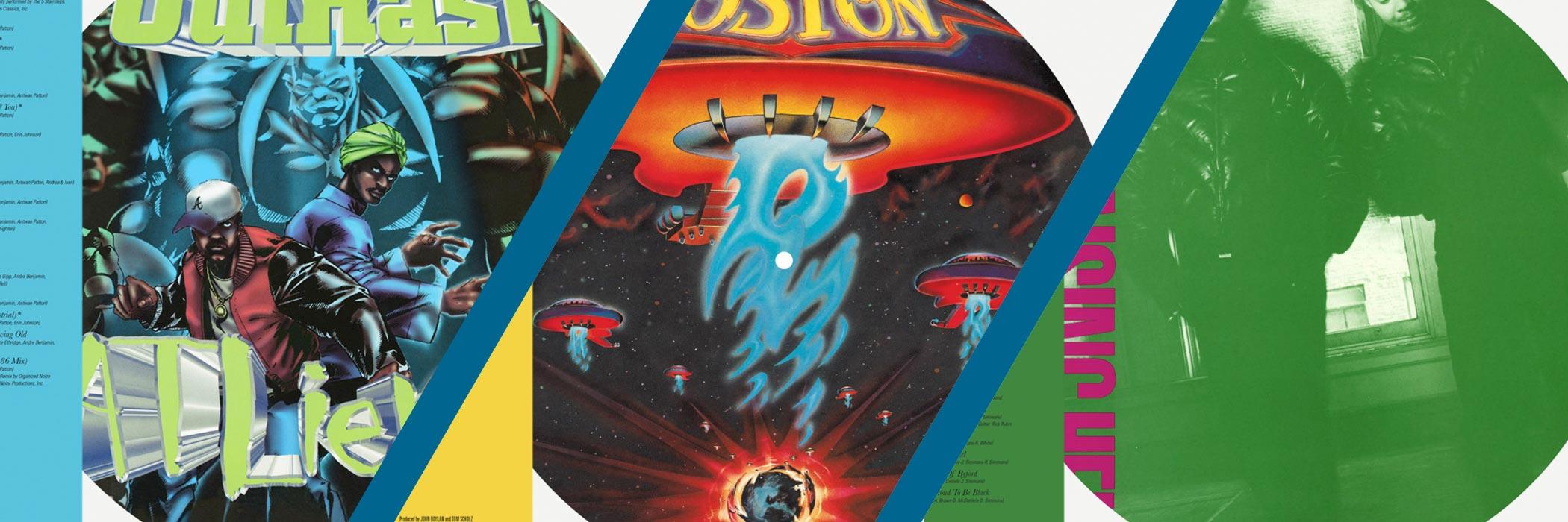 Boston, Run D.M.C., Outkast Part of New 'Legacy Celebrates' Vinyl Series