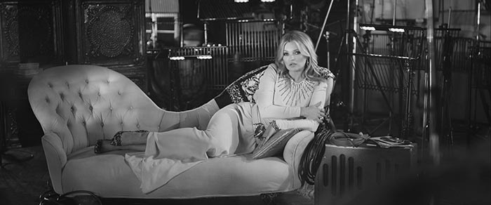 Kate Moss Stars In Elvis Presley Music Video for 'The Wonder of You'