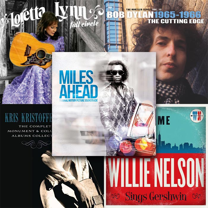 Five Legacy Recordings Albums Nominated At The 59th Annual GRAMMY Awards