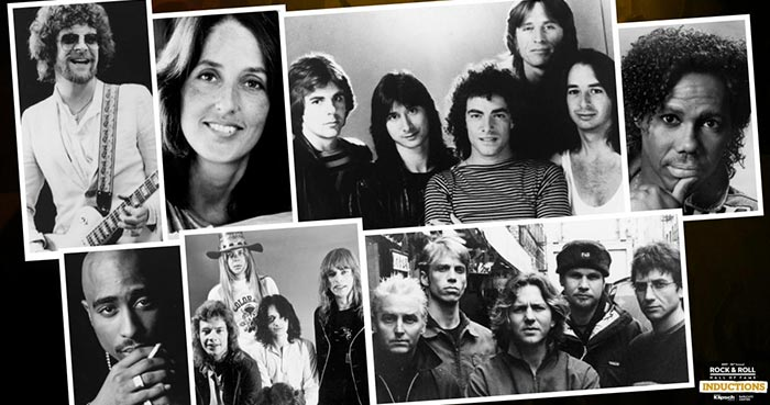 Journey, Pearl Jam, ELO & Joan Baez To Be Inducted Into 2017 Rock & Roll Hall Of Fame