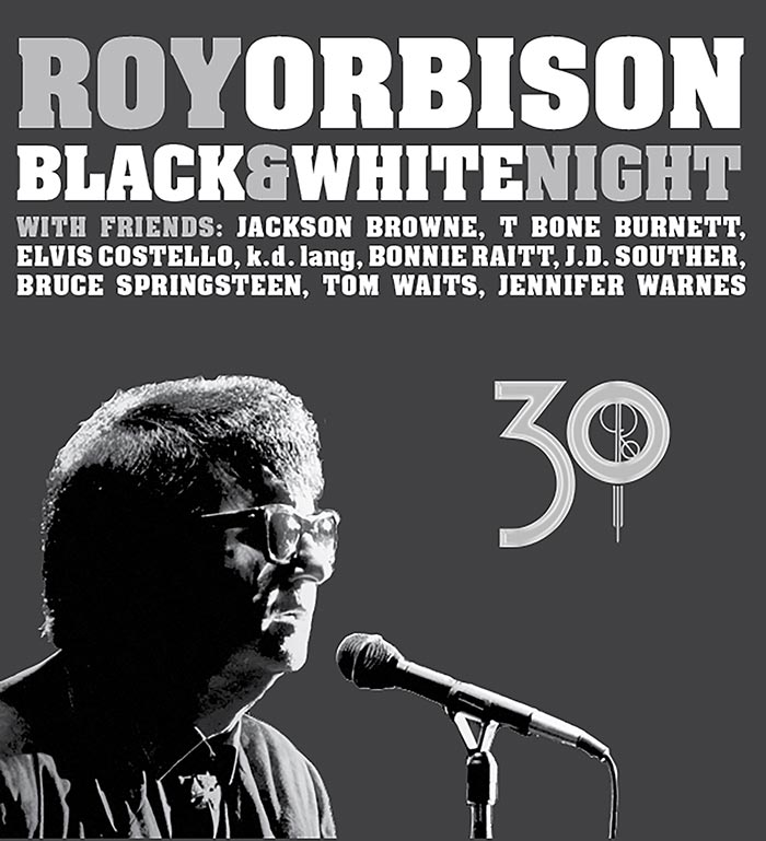 Roy Orbison 'Black & White Night' Remastered Expanded Edition To Be Released February 24