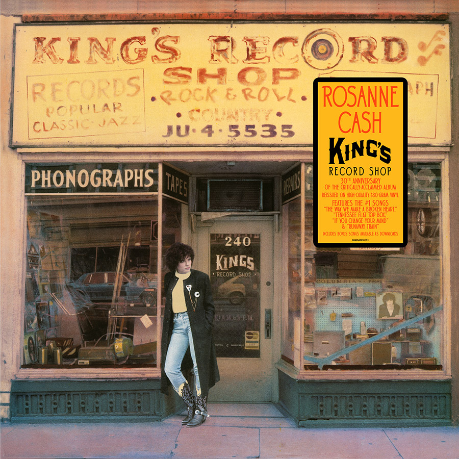 Rosanne Cash 'King's Record Shop' Special Vinyl Edition Coming July 7