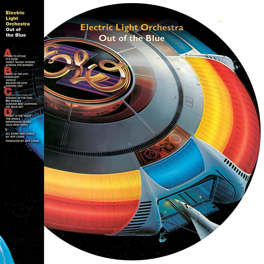 ELO 'Out Of The Blue' To Be Released On Picture Disc For First Time