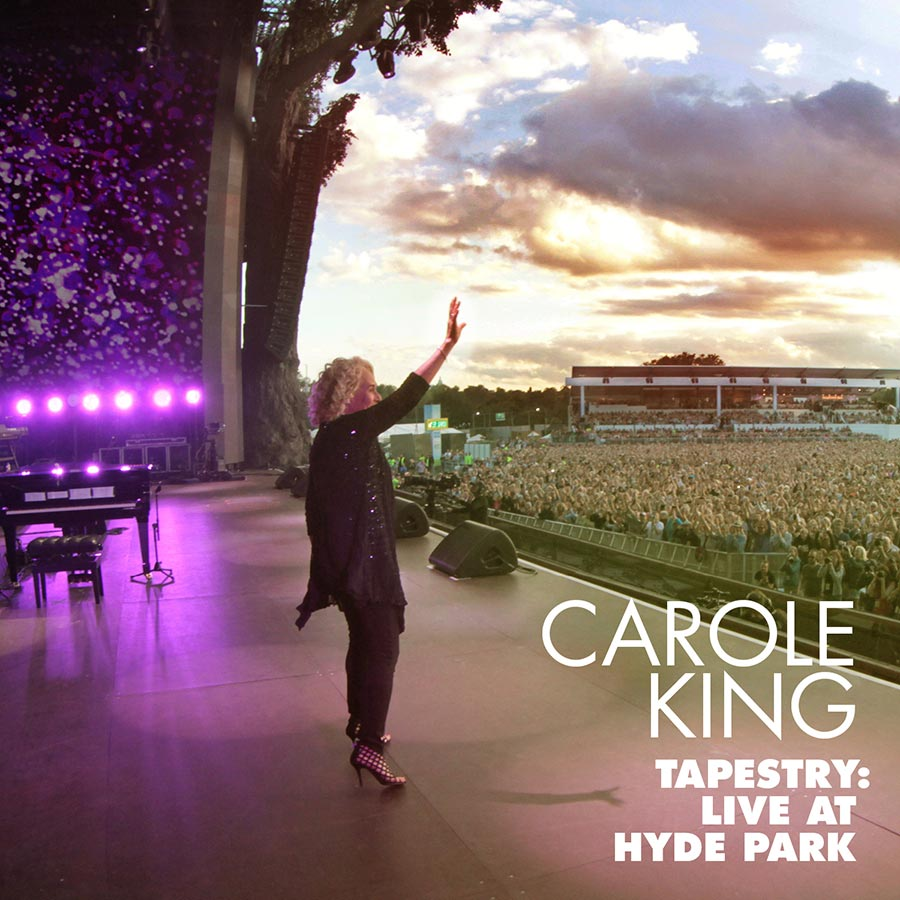 Carole King's 'Tapestry: Live at Hyde Park' To Be Released September 1
