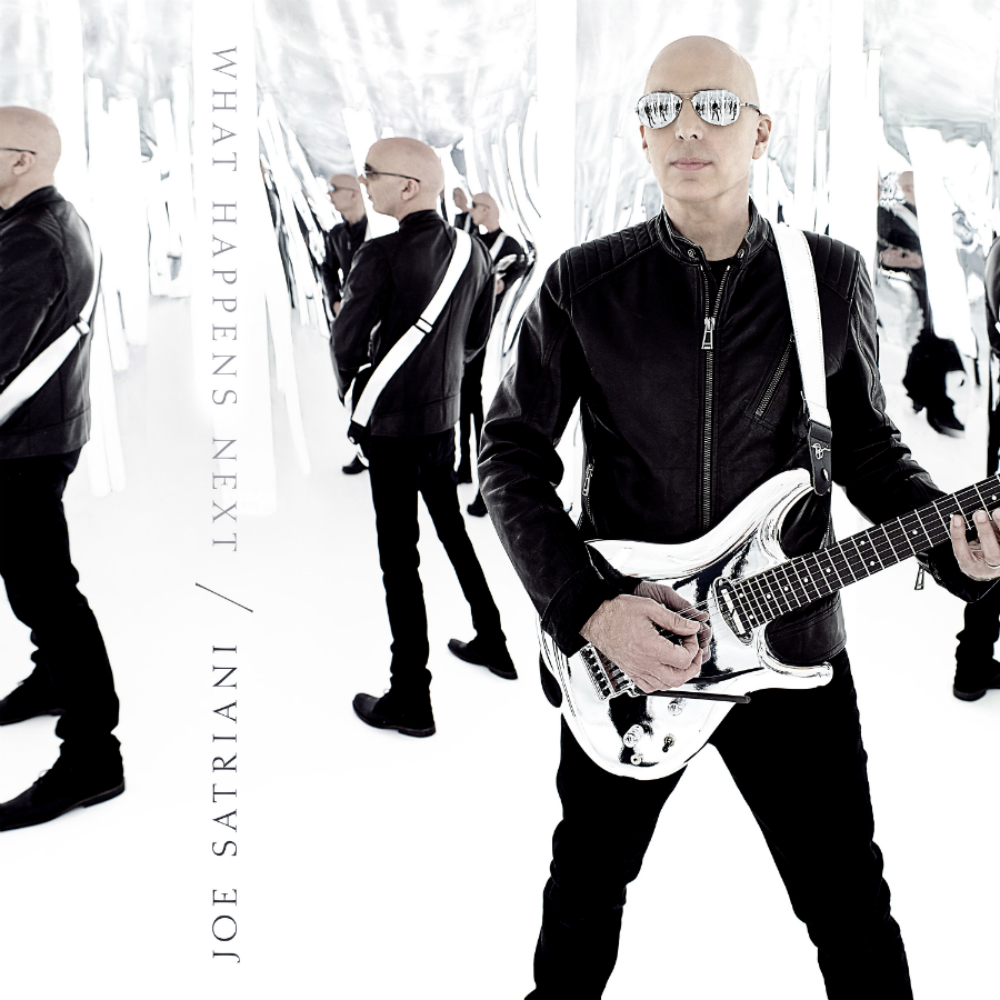 Joe Satriani 'What Happens Next' Available Now