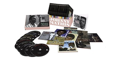 Johnny Mathis 'The Voice Of Romance: The Columbia Original Album Collection' Coming December 8