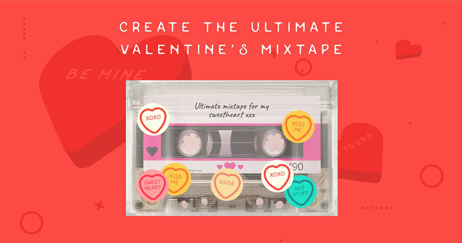 Create The Perfect V-Day Mix!
