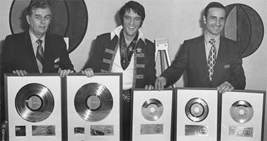 Elvis Presley's RIAA Certified Album Awards More Than 146.5 Million Units