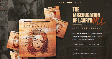 Certified Classics Releases 'The Miseducation Of Lauryn Hill' Album Cover Experience