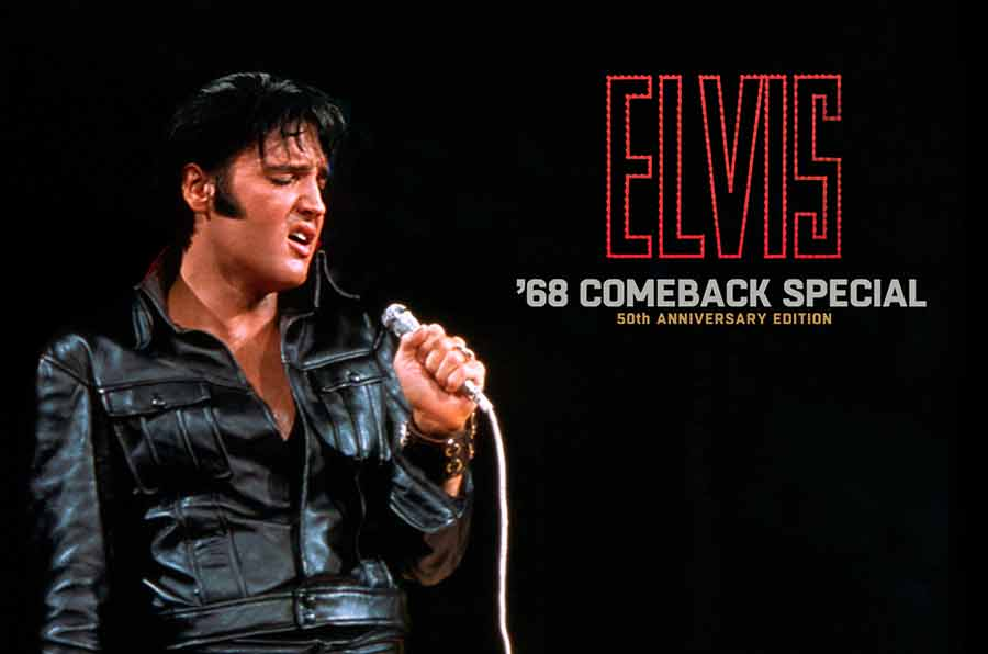 Elvis Presley's Groundbreaking '68 NBC-TV Comeback Special Celebrated with Definitive 50th Anniversary Box Set Release