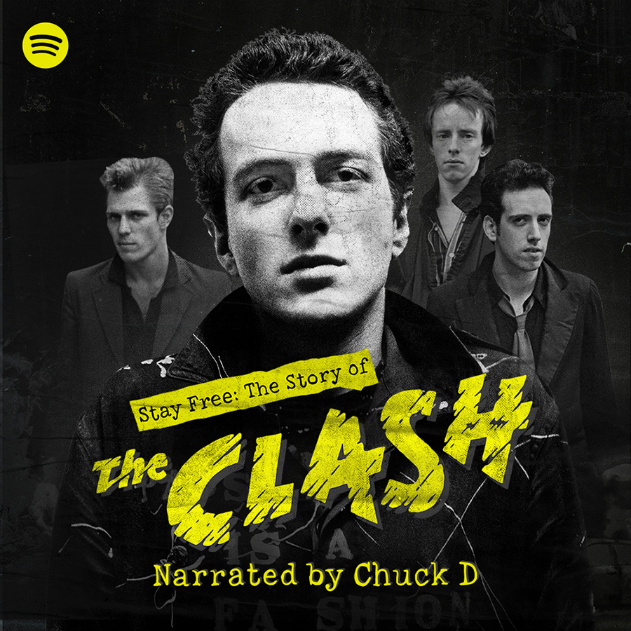 Spotify Presents 'Stay Free: The Story of The Clash' A New Original Podcast