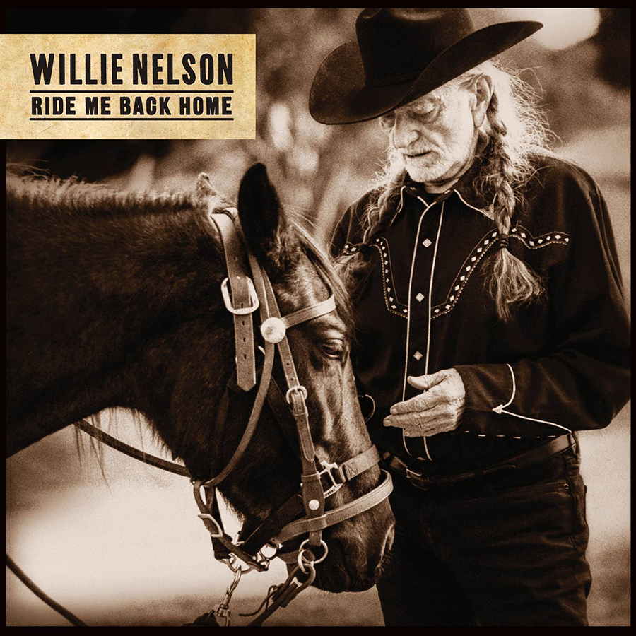 Willie Nelson's 'Ride Me Back Home' Nominated For GRAMMY Award